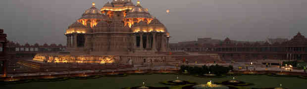 Akshardham Temple – Poetry in stone