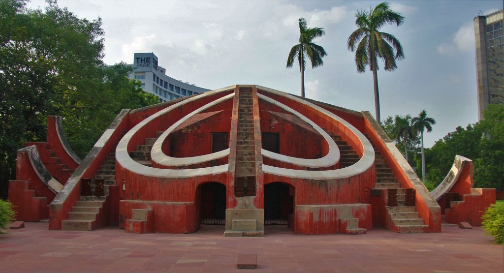 Jantar Mantar Monument in Delhi